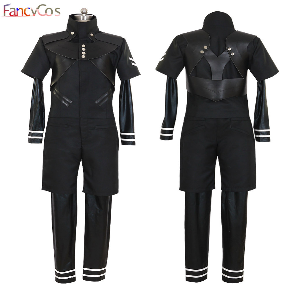 Halloween Men's Tokyo Ghoul Ken Kaneki Ghouls Anime Version Cosplay Costume Game Japanese