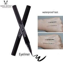 Miss rose black eyeliner pencil super slim smooth eye liner waterproof long lasting 2ML liquid eyeliner tattoo pen MS158 цена в Москве и Питере