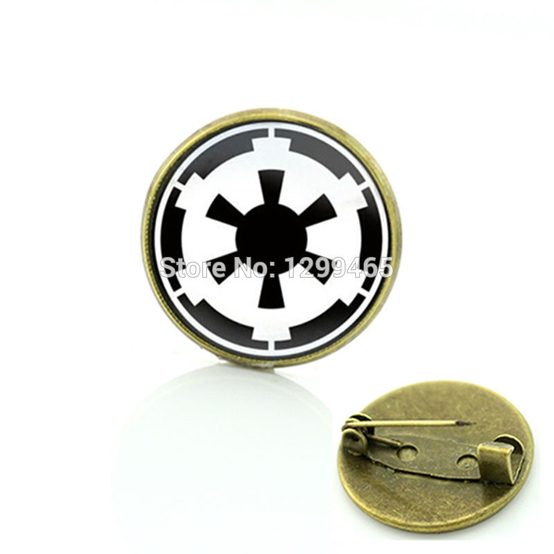 Hot sale amazing fashion alloy silver jewelry He Star Wars Universe brooch Jewelry art picture Glass cabochon dome medal C433