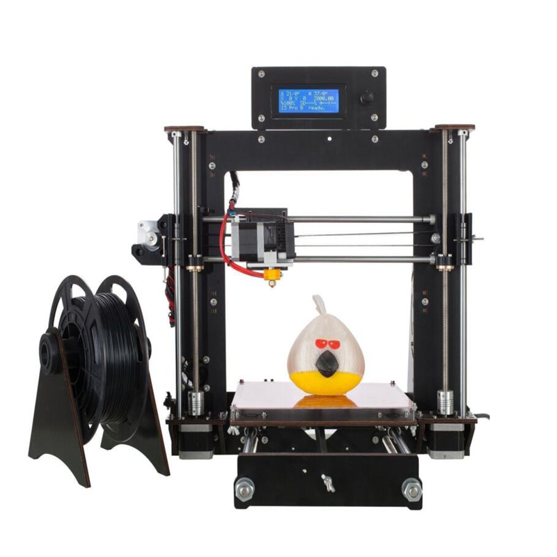 zrprinting Latest A8 High Precision MK8 Prusa I3 3D Printer DIY Kit -Gift - PLA 3D Filament