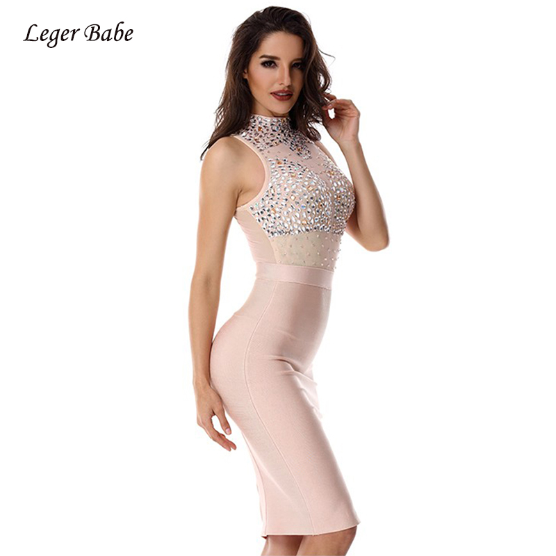 Leger Babe 2019 New Fashion Nova Dresses Bodycon Diamonds O-Neck Turtleneck  Celebrity Party Sexy. US  22.75. 2 orders. Leger Babe 2019 Summer Bandage  ... 51d64065b4ad