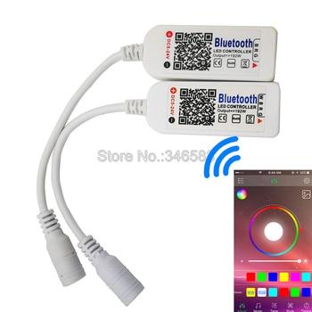 Feliz Iluminação RGBW RGB LED Light Strip Controlador DC5V-24V Bluetooth V4.0 Smartphone Controle Remoto em iOs/Android APP