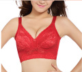 2017 New Thin cup big yards 95G without rims chest small  gathered brand Bras Women women's underwears girl Brassieres