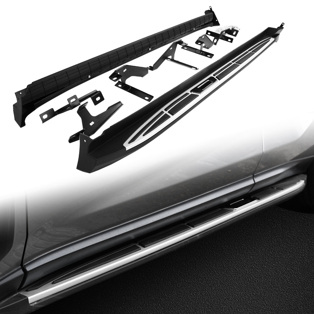 New design aluminium side step running board nerf bar suitable for lexus nx 2015 2016