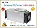 Bitcoin Miner VERWENDET Ebit E9 Plus 9T 14nm Asic Miner BTC BCH Miner (kein netzteil) hohe Kosten-effectiv als S9