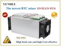 Mới nhất Bitcoin Miner SỬ DỤNG Ebit E9 Cộng Với 9 T 14nm Asic Miner BTC Miner (không có psu) cao, Chi Phí-effectiv hơn S9