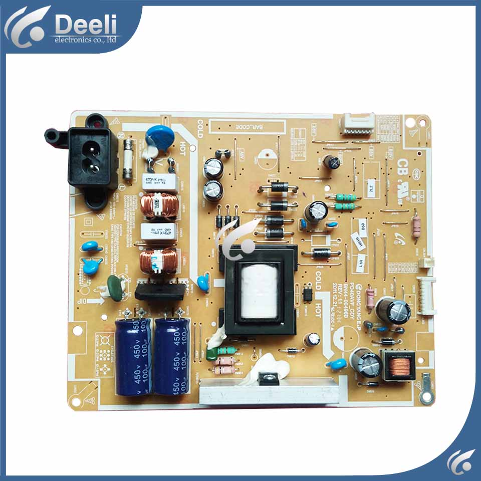 good working used board for power supply board UA40EH5080R BN44-00496B = BN44-00496A board 95% new used board good working original for power supply board la40b530p7r la40b550k1f bn44 00264a h40f1 9ss board