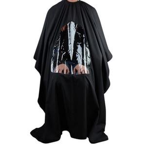 Image 2 - 115*80 センチメートルプロ防水スタイリングサロン理髪美容師ヘアカット理髪ガウン岬ウィンドウを表示したエプロン
