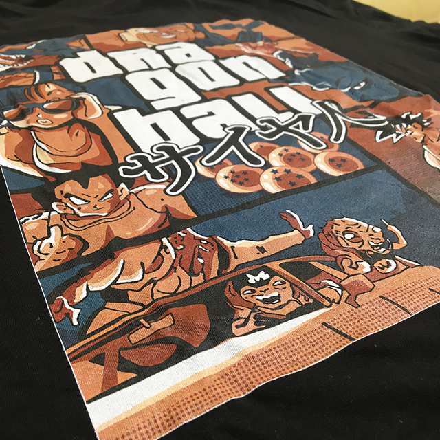 Grand Theft Dragon Ball Z GTA T-Shirt