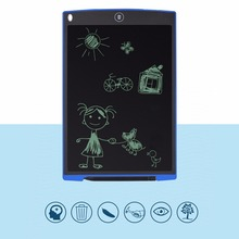On sale Portable 12 inch LCD Magic Scratch Toy Drawing Touchpad Electronic Whiteboard Memo Board Tablet With Stylus For Children writing