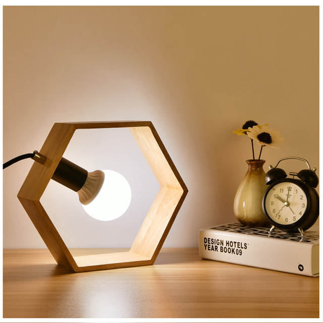 Geometric Shaped Table Lamp