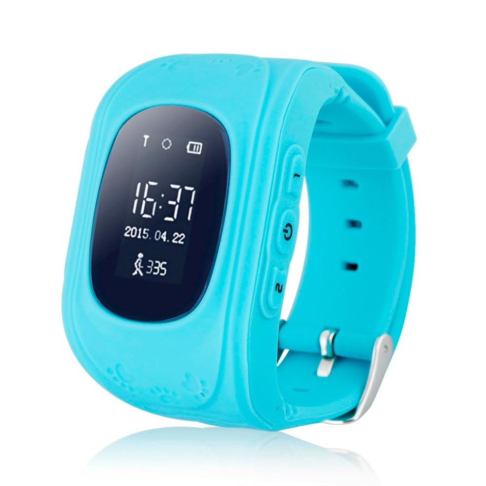 Q50 GPS Izci Izle Kol Saati SOS Çağrı Konumu Bulucu Bulucu Izci Çocuk Çocuk Anti-Kayıp Monitör Için çocuk iyi Hediye