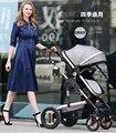 2016 de Alta Calidad De Aluminio cochecito de Bebé Cochecito/Verano Baby Stroller carruajes