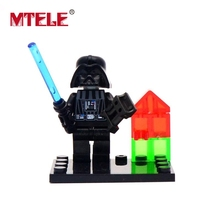 MTELE 8 Pcs/lot Star Wars Jedi Baby  Figure Building Blocks Model Figures For Kids Chrismas Gift Compatible With Lego And Lepin