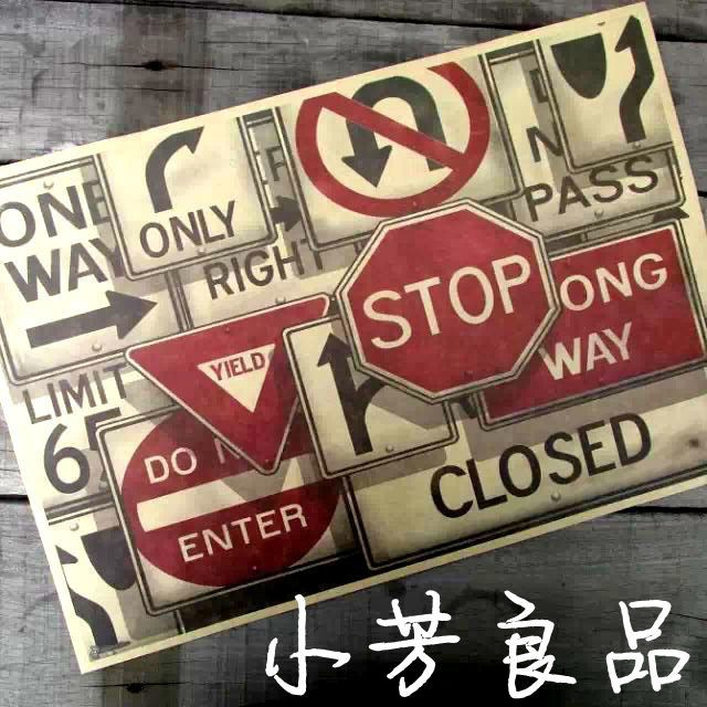 Traffic Signs Wall Decor : Get cheap decorative traffic signs aliexpress