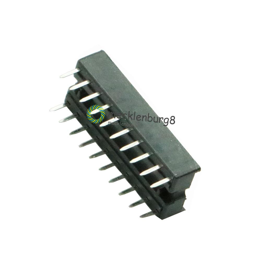 100PCS 20-Pin 20pin DIL DIP IC Socket PCB Mount Connector NEW