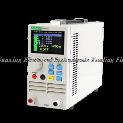 Fast arrival ET5410/ET5411 Single Channel Electronic DC Load 400W/150V/15A ,400W/500V/40A With USB interface Free  PC software