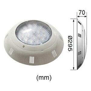 Image 5 - Luz LED para piscina RGBW de montaje en pared, 24W, 36W, resistente al agua, IP68, iluminación de fuente AC12V con 18 llaves, mando a distancia, 48W, 60W, 72W
