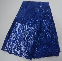 Nigeria lace fabric 2019 new product launched high quality lace embroidery fabric lace for women French mesh lace fabric