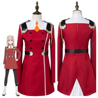 Japanese Anime DARLING In The FRANXX Cosplay ZERO TWO CODE 002 Cosplay Costume Uniform Outfit