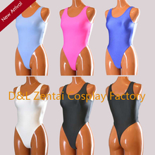 Free Shipping DHL Sexy Adult Lycra Spandex Skin-Tight Bodysuit One-Piece Swimsuit Leotard 5 Colors For Events Halloween Party