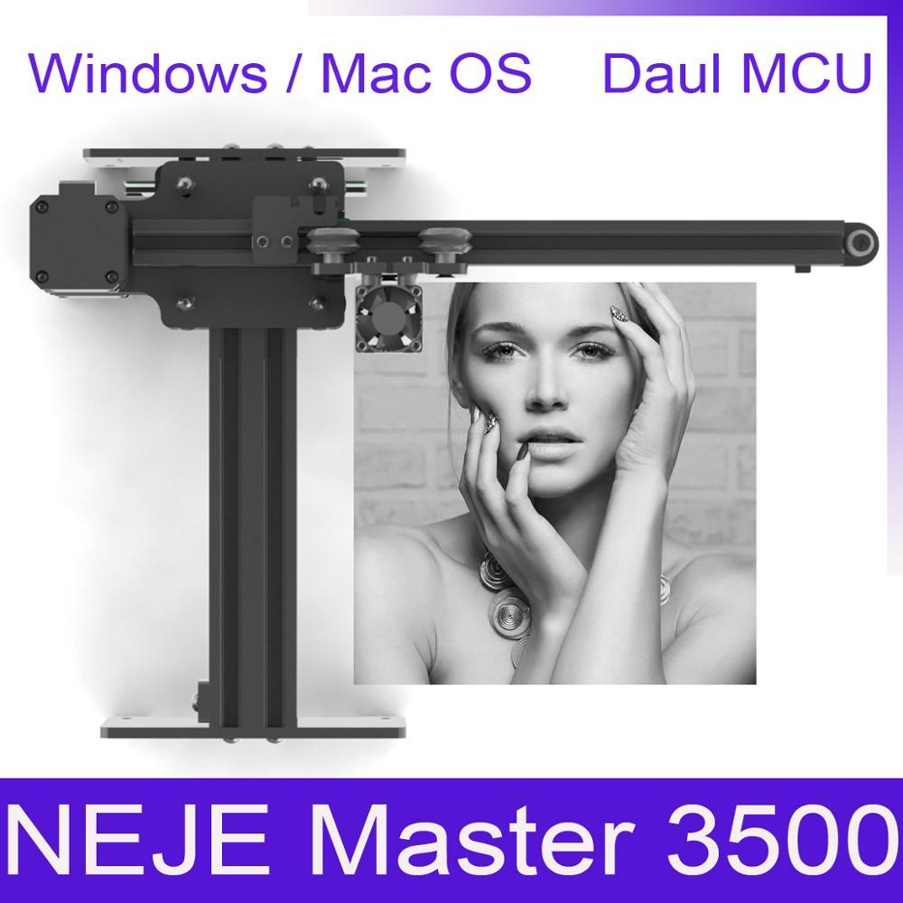 NEJE Master 405nm 3500mw Laser Wood Engraving Machine For Grayscale Engraving Laser Cutting Engraving Machine Wood