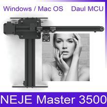 NEJE Master 405nm 3500 mw лазерная гравировка дерева машина для гранулирования серого/Лазерная резка гравировальная машина/деревянный маршрутизатор