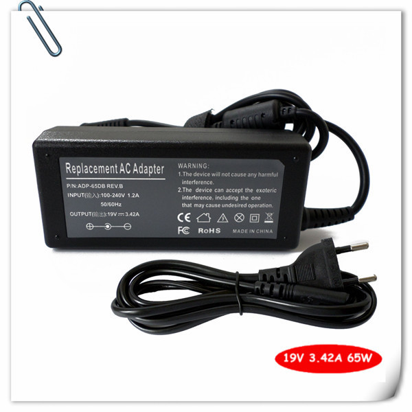 Laptop AC Adapter for Acer Aspire 1650 2930 5512 1200 3030 5253 5538 5630 5734Z-4725 5920 E100 Power Supply Charger Cord