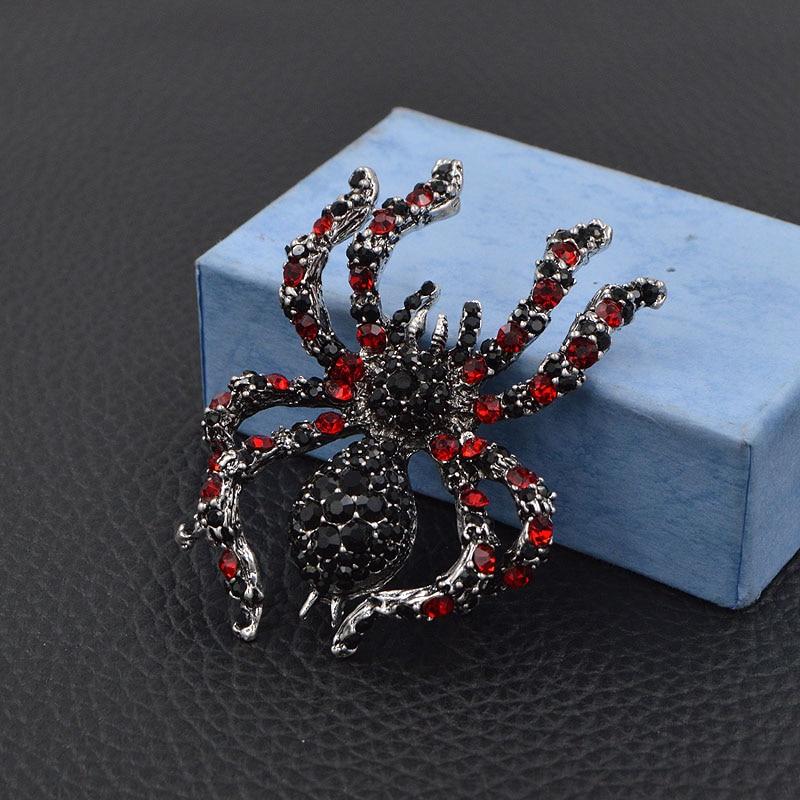 CINDY XIANG berlian buatan labah-labah labah-labah untuk penyataan - Perhiasan fesyen - Foto 3