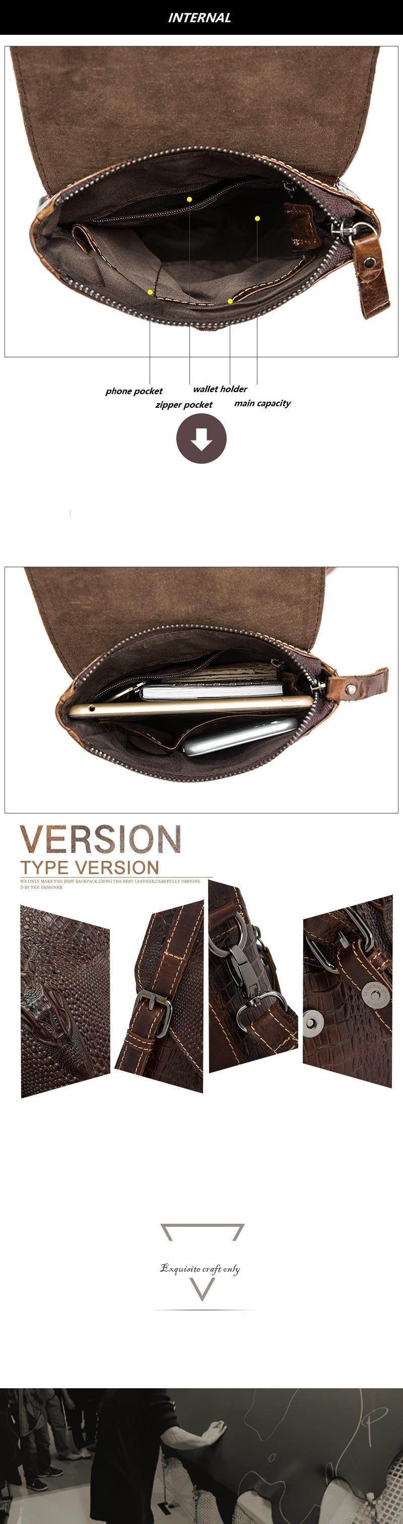 HTB1h4YnedLO8KJjSZPcq6yV0FXac Men Crocodile Classic Briefcase Genuine Leather Business Office Ipad Bag Lawyer Handbag Portfolio Satchel Alligator Shoulder bag