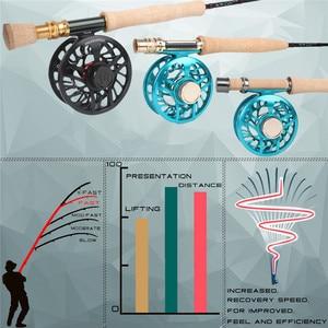 Image 4 - Maximumcatch Skyhigh 6 10ft 2 8wt Fly Fishing Rod แกรไฟต์ IM12 Toray คาร์บอน 3/4 PC บิน Rod คาร์บอนหลอด