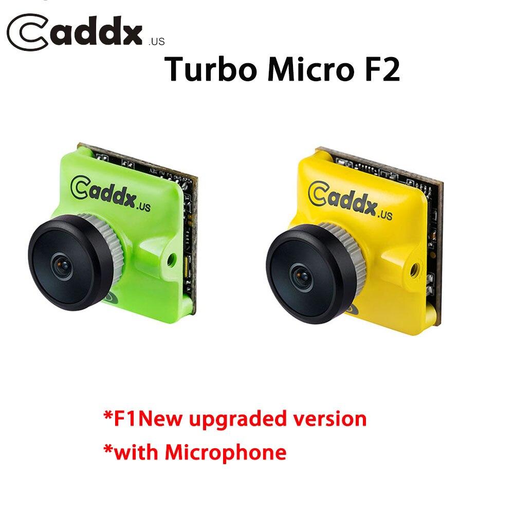 NEUE Verbesserte CADDX Turbo MICRO F2 1200TVL CMOS FPV Kamera mit Mikrofon PAL/NTSC Umschaltbar für FPV Racing Drone kit