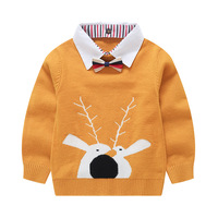 Cotton Sweater Cardigan Kids Baby Boy Clothes Winter Kids Designer Sweaters Toddler Cartoon Sweater Girl Clothes