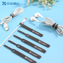 Coolreall cable protector organizer Wire Winder Cable 11cm management for  iphone xiaomi HDMI Mouse Cord earphone AUX USB cable