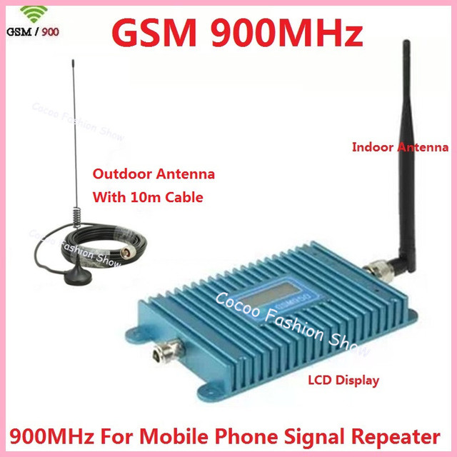 US $40 33 |Hot Sell High Quality LCD Display GSM 950 Cell Phone Signal  Booster Amplifier, GSM Signal Repeater, 900mhz Booster Amplifier-in Mobile