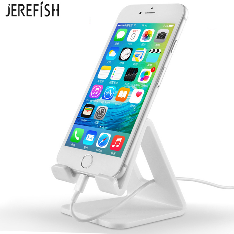 JEREFISH Tablet Holder Cell Phone Holder Stand Mount Support Table Holder Universal for pad Pro air mini 2 3 4 for iphone X 8 7