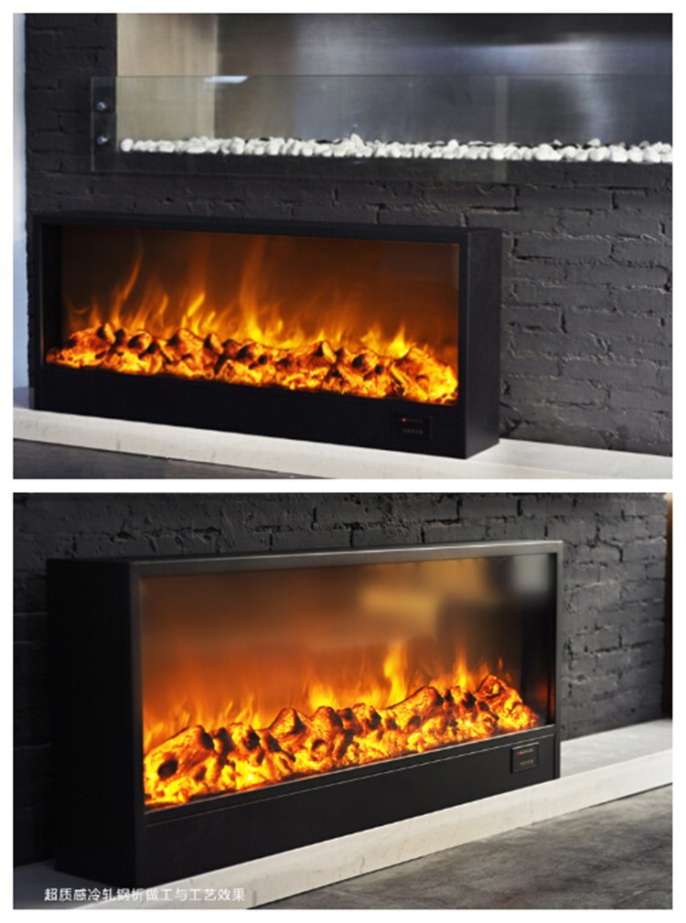 Large W V Electric Fireplace Insert Heater  Style - Style selections electric fireplace