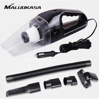 Portable 120W 12V Car Vacuum Cleaner Handheld Mini Super Suction Wet And Dry Dual Use Vaccum