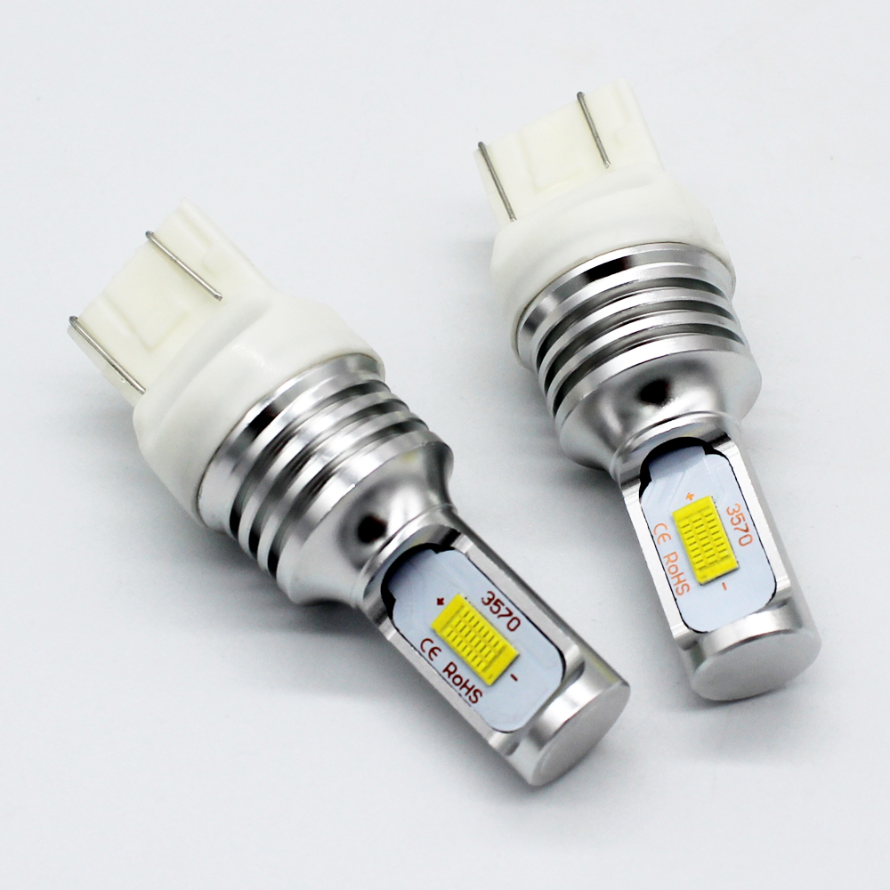 Newest 1157 T20/7440 T20/7443 3156/T25 3157/T25 1156 led bulb canbus CSP LIGHT Source 72W 2000LM reverse turn brake light auxmart t25 3157 3156 33smd led for jeep