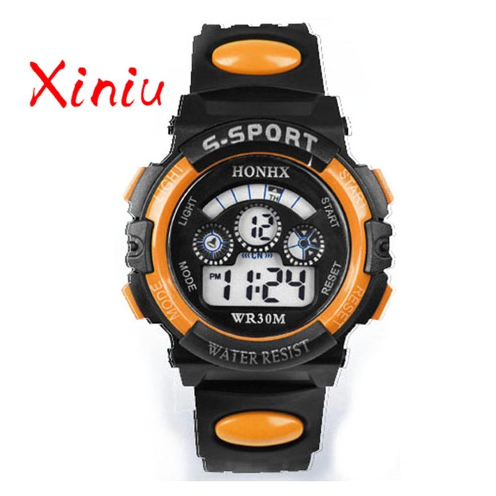 Honhx Children Watch Kids Boy Digital Quartz Date Fashion Sports Wristwatch Girl Watches Gifts Drop Shipping #5