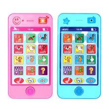 Детский мобильный телефон игрушка русский язык Дети музыкальная машина ребенок Раннее Образование игрушки моделирование мобильный Детский обучающий подарок