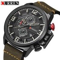 Curren Watches Men Brand Luxury Military Analog Quartz Watch Men S Fashion Sport Wristwatches Male Clock