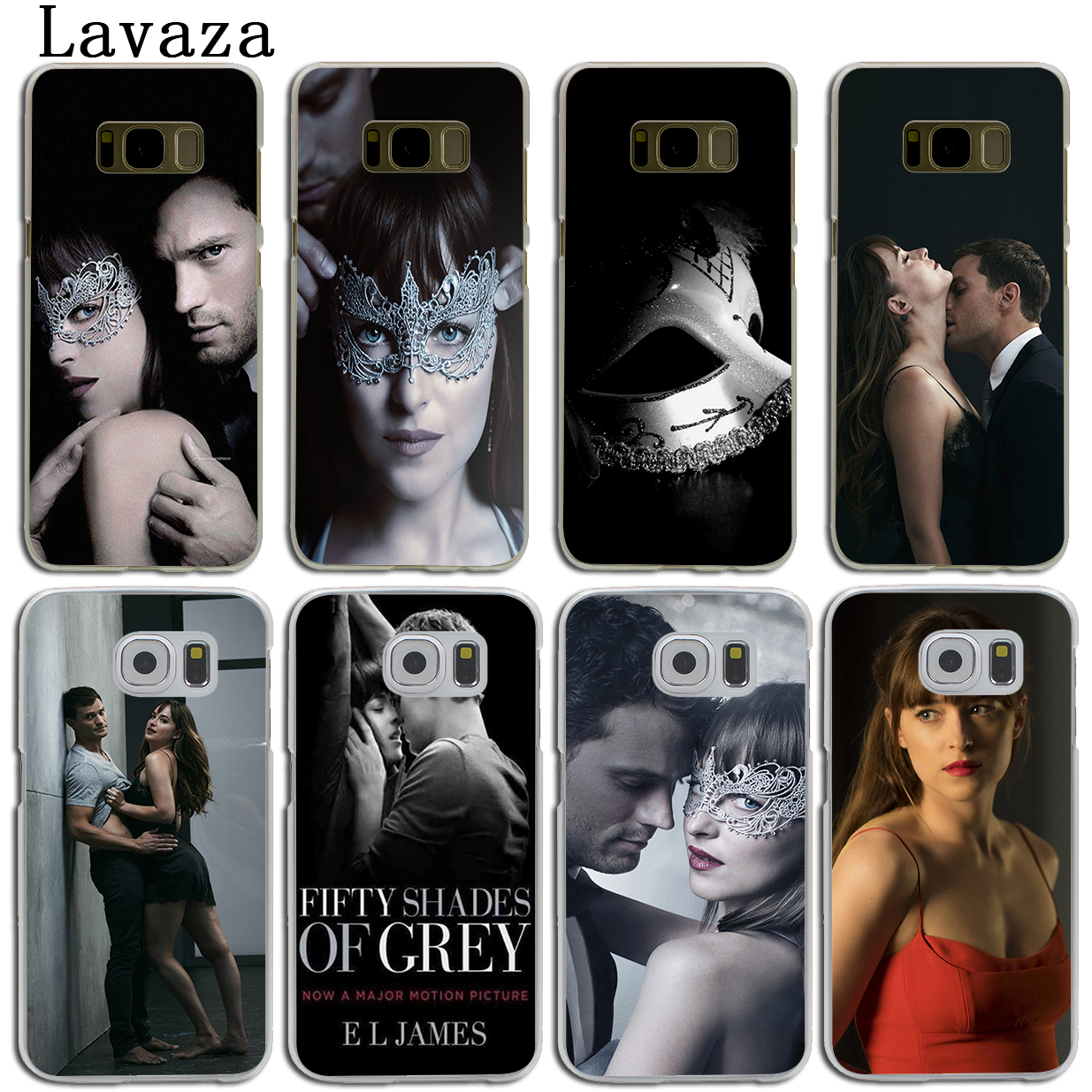 Lavaza Fifty Shades Darker of grey freed Hard Phone Shell Case for Samsung Galaxy S7 S6 Edge S3 S4 S5 & Mini S8 S9 Plus Cover