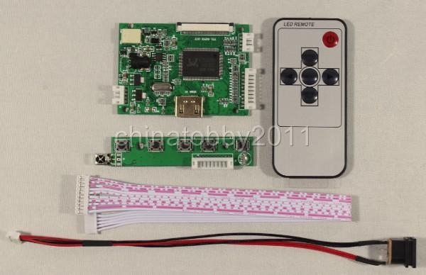 HDMI input LCD controller board work for 8inch 800x600 EJ080NA-05A AT080TN52 EJ080NA-05B (without LCD screen)
