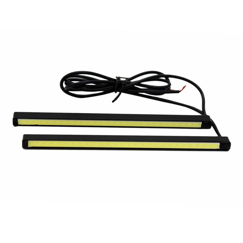 2Pcs / Paire SUNKIA Haute Lumineux COB DRL LED 15cm Lampe de - Feux de voiture