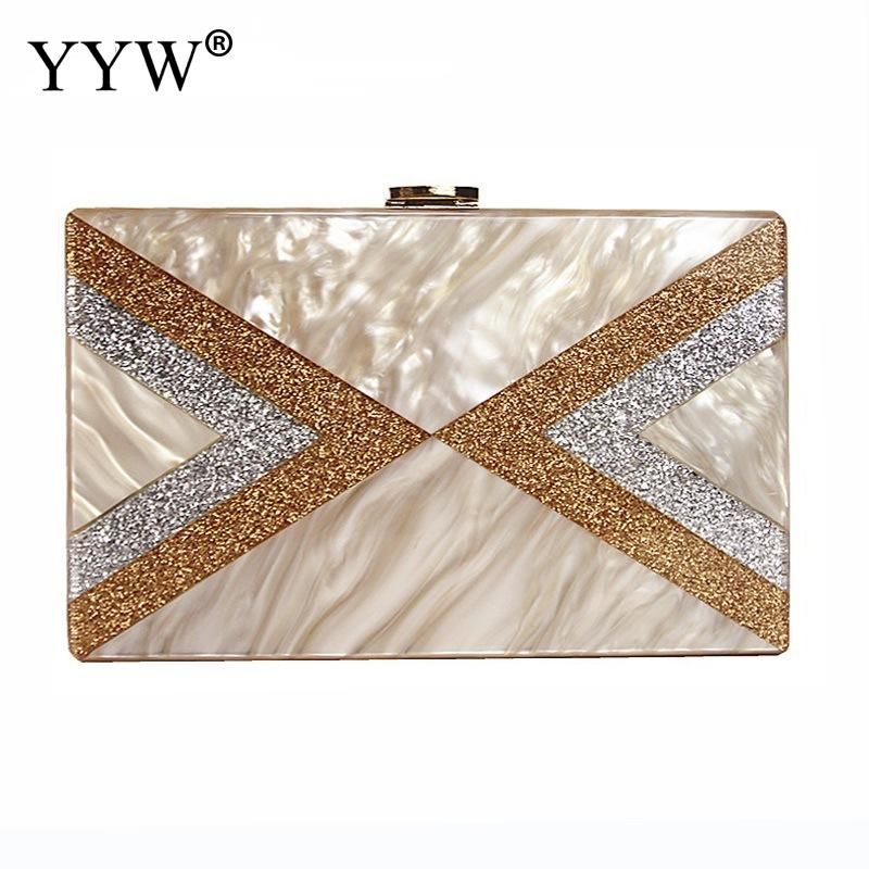 Sequin Acrylic Box Clutch Bag Bulk Women Evening Bag Wedding Party Prom Shoulder Handbag Metal Chain Rectangle ClutchesSequin Acrylic Box Clutch Bag Bulk Women Evening Bag Wedding Party Prom Shoulder Handbag Metal Chain Rectangle Clutches