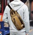 New Men's Cotton Canvas Casual Business Shoulder Messenger Sling Chest Bag Tote Handbags
