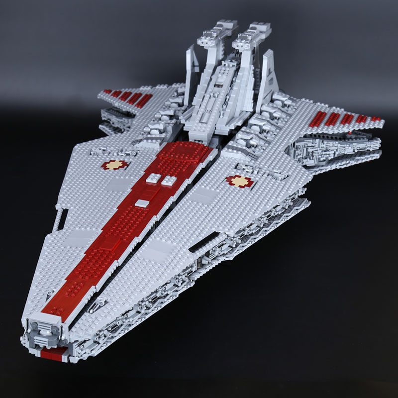 H & HXY EN STOCK 05077 6125 Pcs Étoiles La NGC République Destroyer wars Cruiser ST04 Ensemble Bâtiment lepin Blocs briques Jouets