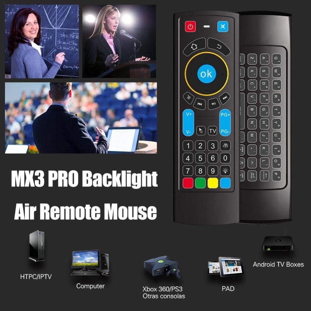 Black Wireless Mini Keyboard & Mouse Easy Control Remote Control ...