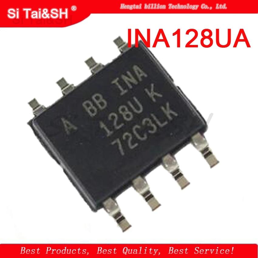 1PCS INA128UA  INA128  INA128U  SOP-8